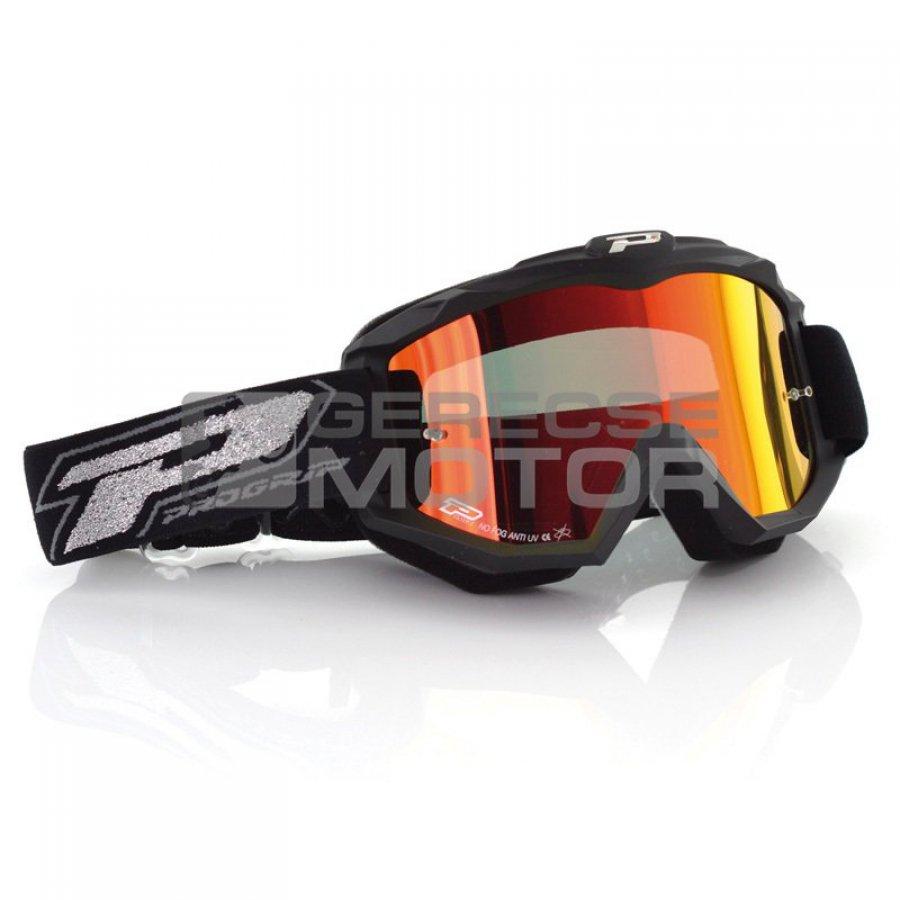 Motoros szemüveg Szemüveg Cross Progrip DARK SIDE 3204 árak d778a65437