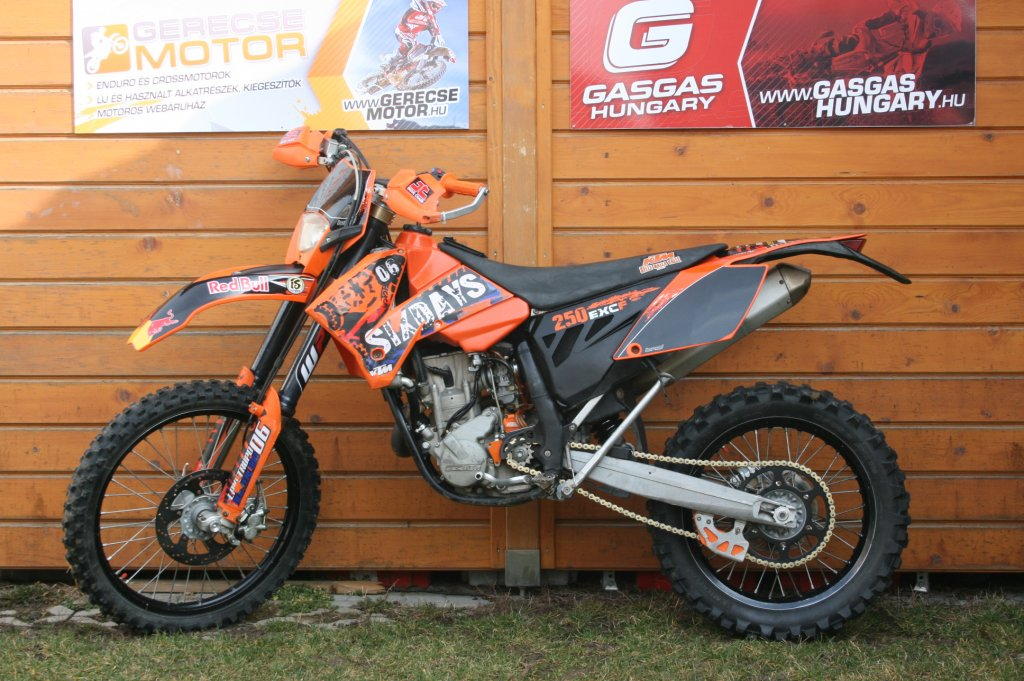 6d82effdcda3 Gerecsemotor használt motorok - KTM EXC-F 250 Six Days