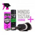 Mindig Tisztán+ Muc-Off készlet